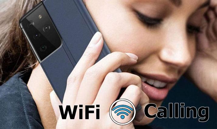 galaxy s21 wifi calling